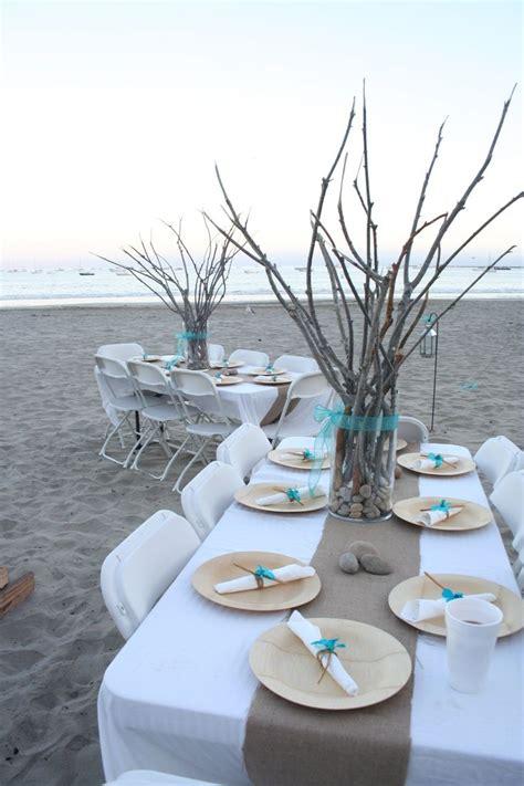 ideas  beach table decorations  pinterest