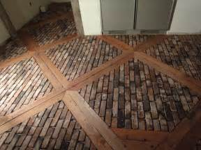 awesome brick floor vintage brick veneer