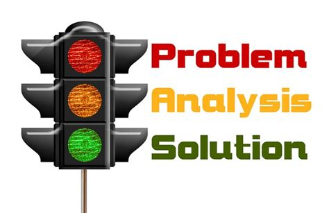 free illustration traffic lights problem analysis
