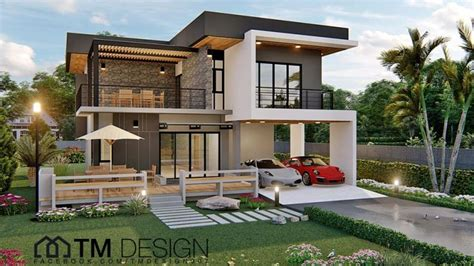 modern  storey  pinoy house plans
