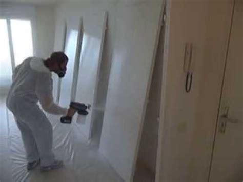peindre des portes avec pistolet airless graco easymax www avenir peinture