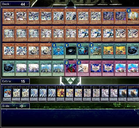 stardust deck ygopro my deck list decks ygopro forum