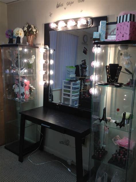 dazzling makeup vanities  bedrooms  lights