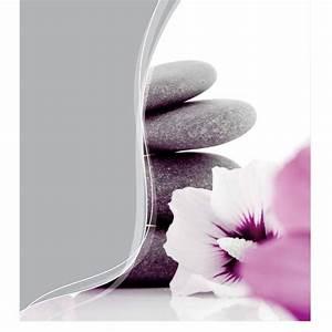 Rideau Gris Clair : rideau de douche polyester 180x200cm zen gris clair ~ Teatrodelosmanantiales.com Idées de Décoration