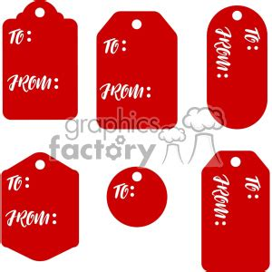 gift tags svg files dxf vector christmas tag