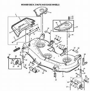 John Deere X320 Deck Belt Routing