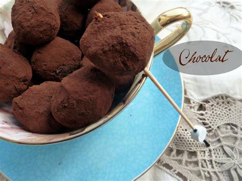 truffes chocolat marron le de recettes de ratiba
