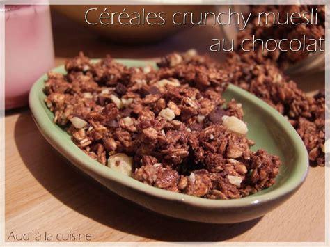 aud a la cuisine céréales crunchy muesli au chocolat aud 39 à la cuisine