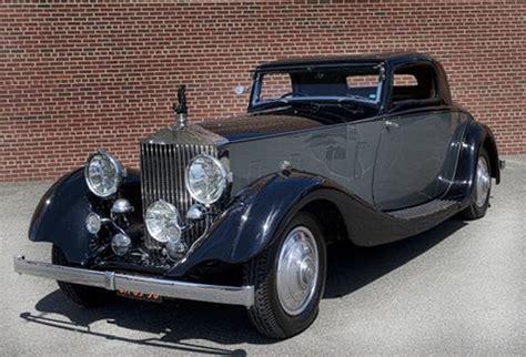 1935 Rolls Royce Phantom 1935 rolls royce phantom iii information and photos