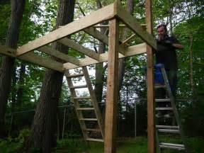 Pallet Tree House Plans