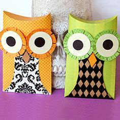 Owl Pillow Box Template by Pillow Box Die On Pillow Box Gift Boxes And