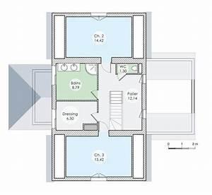 maison bbc en basse normandie detail du plan de maison With toit en verre maison 9 vaste maison familiale detail du plan de vaste maison