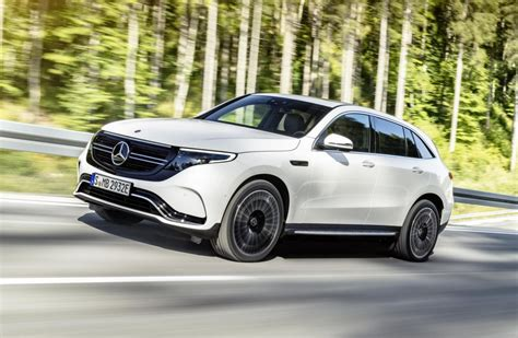 mercedes benz eqc unveiled  electric mid size suv