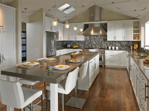 how to a kitchen island with seating 20 beautiful kitchen islands with seating kitchen