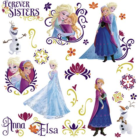 stickers muraux reine des neiges disney frozen wall stickers stickers for wall