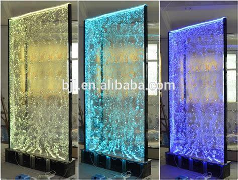 acrylic led swirl water bubble wall background indoor