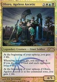 Oloro Ageless Ascetic Commander Deck by Oloro Ageless Ascetic Judge Promos Magic The