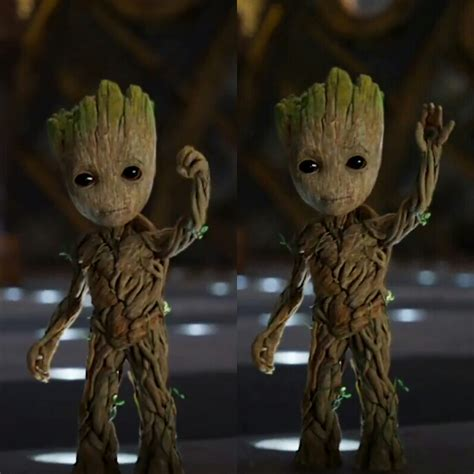 Baby Groot Says Hi Inspiration