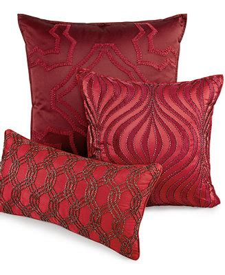 hotel collection medallion 20 quot square decorative pillow