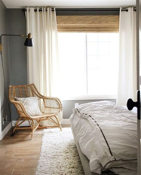 Bamboo Shades With Sheer Curtains  Curtain Menzilperdenet