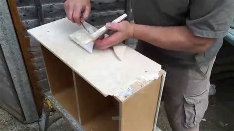 how to fix a broken drawer how to repair a broken travertine tile drawer front by