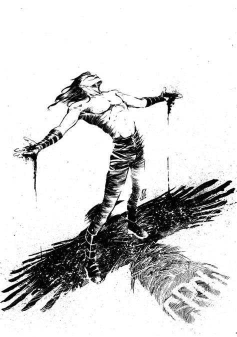 The Crow by Ariela Kristantina   * Comics: Vigilantes   Villains   Pinterest   Crows, Comic and