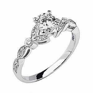 Unique vintage wedding rings for women vintage engagement for Wedding engagement rings for women