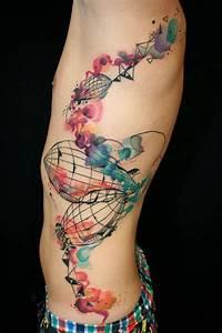 46 Brilliant Watercolor Tattoos - My Next Tattoo