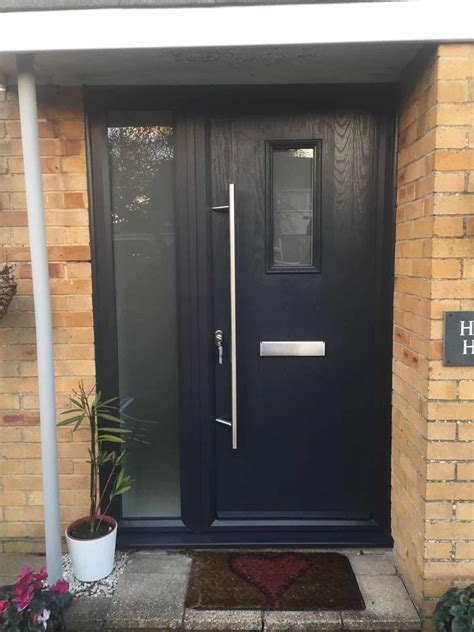 grey composite front door buildmydoor buildmydoor