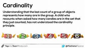 Cardinality  U2013 Counting And Quantity Principles