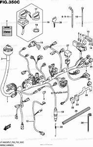 Suzuki Atv 2017 Oem Parts Diagram For Wiring Harness  Lt