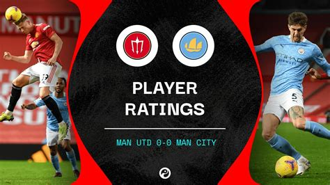 Man Utd 0-0 Man City: Player ratings as Stones shines in ...