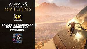 Assassin's Creed: Origins Exclusive Gameplay - Pyramid of ...
