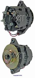 12174n-1g  1194701md  Top Quality Mando Type 55 Amp  12 Volt Marine Alternator