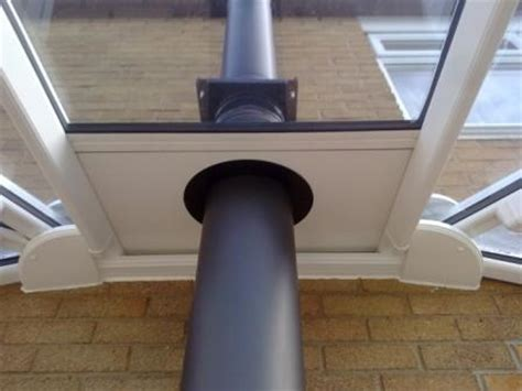 Wood Stove Pipe Through Roof Acpfoto Saveenlarge Ing Burning Stoves In A Conservatory Installing