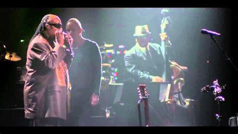 Sting And Stevie Wonder