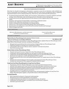 Best Executive Assistant Resume Samples Perfect Resume