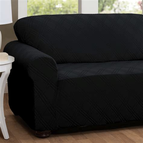 black leather sofa slipcovers black slipcovers for sofas best couch covers for leather