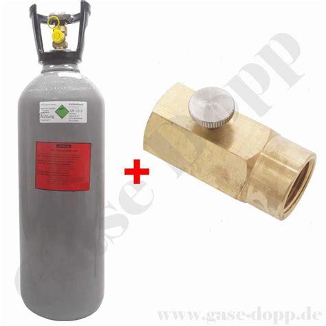 10 kg co2 flasche co2 10 kg steigrohr flasche kurz neu gef 252 llt