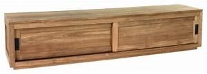 Meuble Bas Alinea : meuble tv porte coulissante alinea table de lit a roulettes ~ Teatrodelosmanantiales.com Idées de Décoration