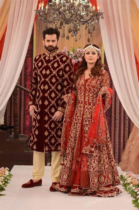 pakistani brides  grooms fashion trends displayed