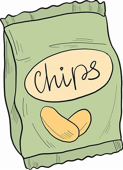 Clipart Chips Transparent Creazilla Md