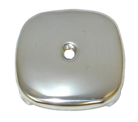 polished ss  hole square overflow plate
