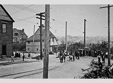 Seattle Now & Then A Fremont Trolley Derailed