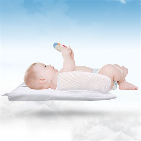 baby anti roll pillow sleep positioner baby infant sleep positioner anti roll pillow prevent flat