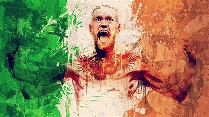 Mcgregor Conor Wallpapers Flag Ufc Irish