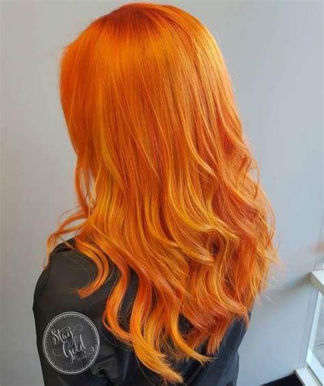 Best 25 Orange Hair Colors Ideas On Pinterest Orange