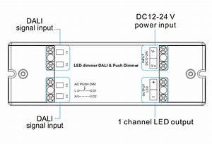 1 Channel Constant Voltage Dali Dimmer  U0026 Push Dim Sr