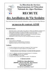 Cv Auxiliaire De Vie Scolaire by Recrutement Auxiliaire De Vie Scolaire Coll 232 Ge Paul