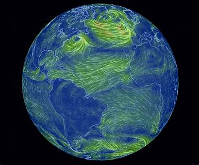 Earth Weather Animated Interactive Planet Gcaptain Visualized